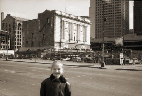 Shubert Theater in process of moving