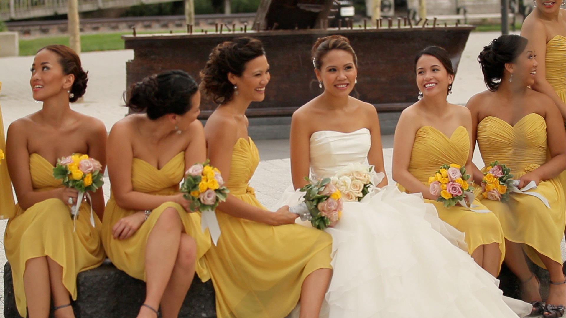 Hot Bridesmaids Dresses 2013 Wedding Trends  Videography Cinematography Wedding Films Modern