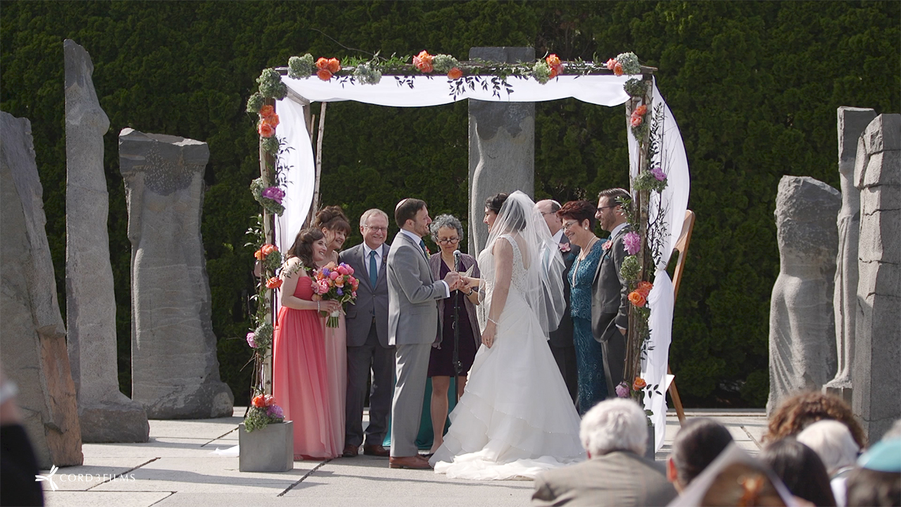 Grounds for Sculpture Wedding Video  Videography Cinematography Wedding Films Modern