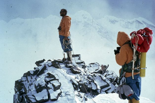 Unsoeld y Hornbein. Everest