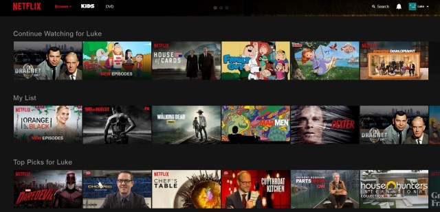 Netflix Releases Their New Web Site | Cord Cutters News
