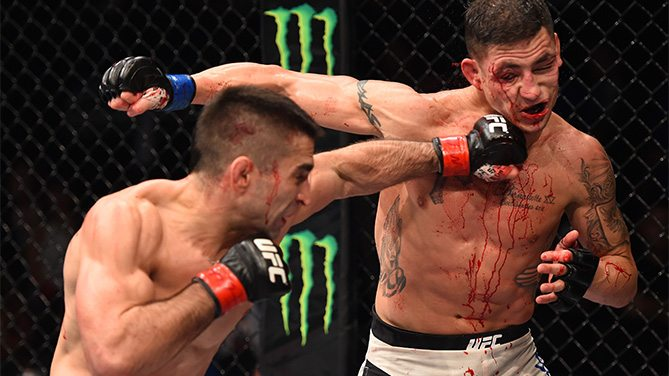 UFC Fight Night: Lamas v Sanchez