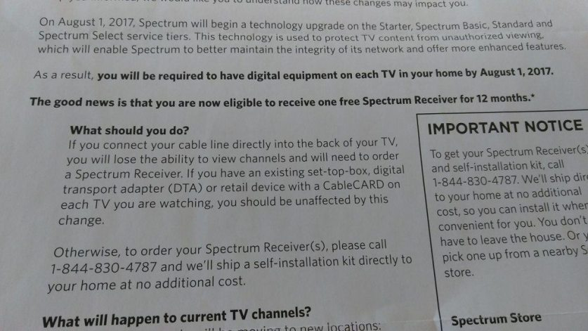 Spectrum Will Soon Be Charging Extra For Every TV You Use