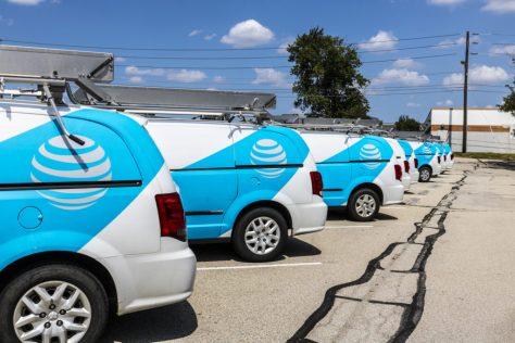 AT&T Trucks