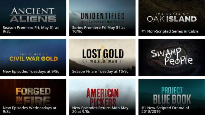 7d9301ec45a How to Watch History Channel LIVE Without Cable (2019 Update)