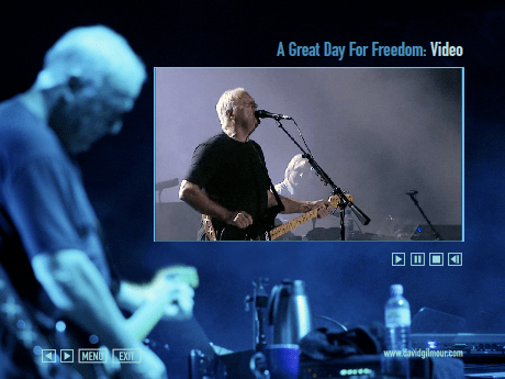 David Gilmour 2008 > A Great Day For Freedom