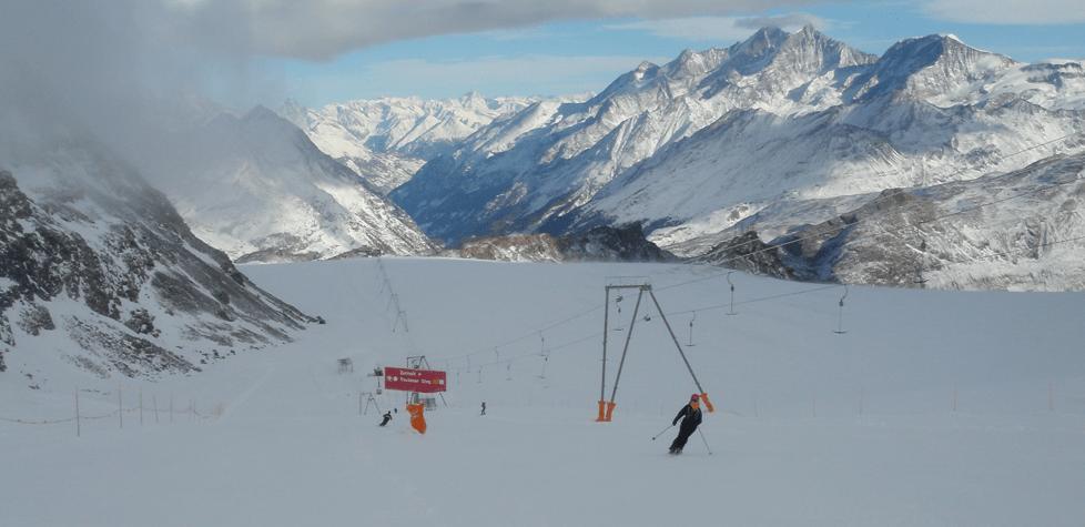 Plateau Rosa > verso Trockener (1.11.2008)