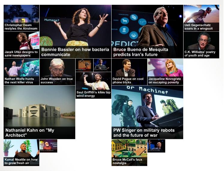 TED > Homepage > Visual summary