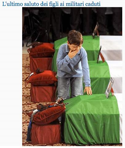 Martin Fortunato saluta suo padre (da La Stampa)