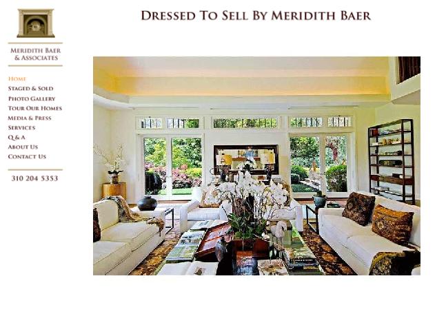 MEREDITH BAER > Homepage