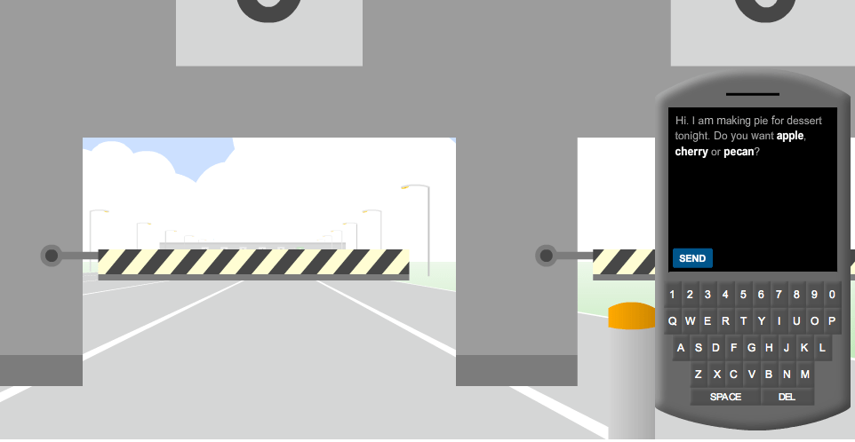 New York Times > Driving Game