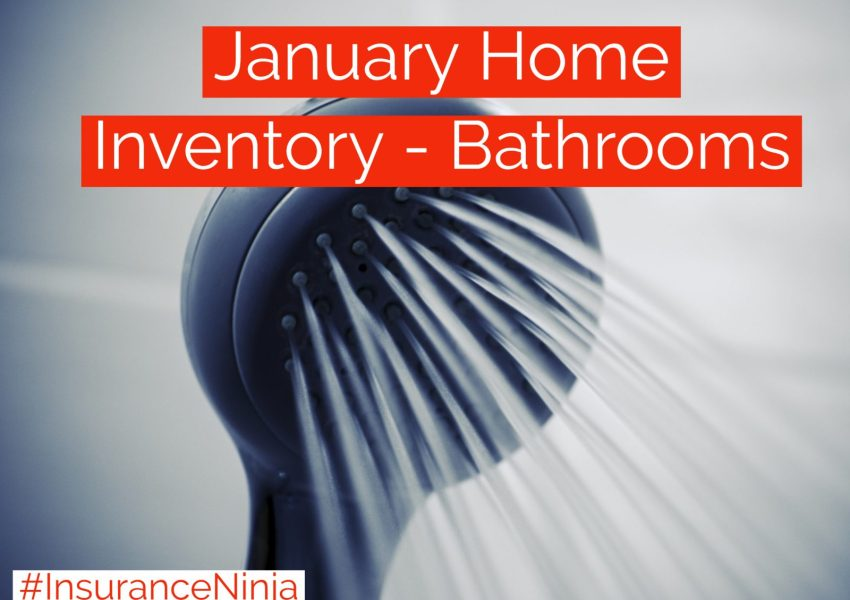 January Home Inventory - Bathrooms