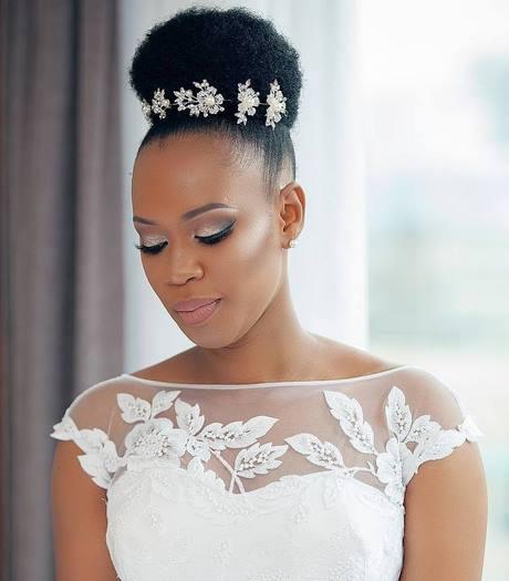 Coiffure mariage cheveux crpus naturel