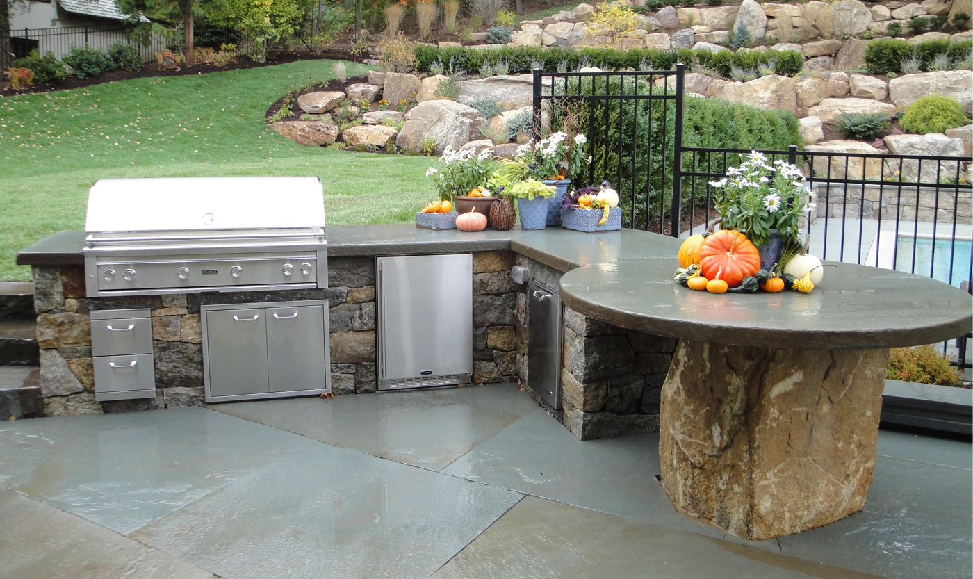 outdoor kitchen bbq unique cabinets and by cording landscape design