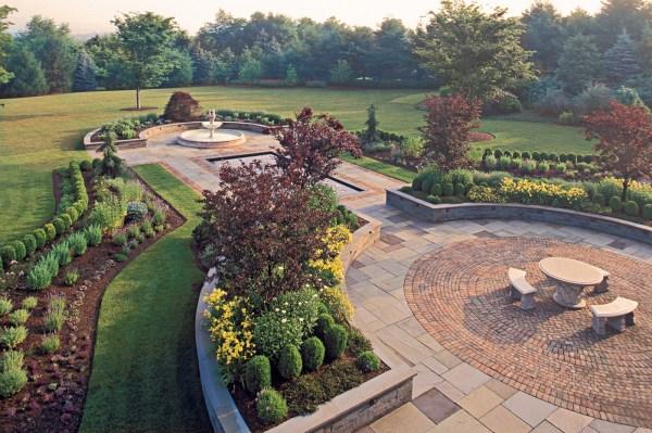 formal gardens cording landscape