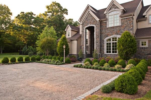 formal garden cording landscape