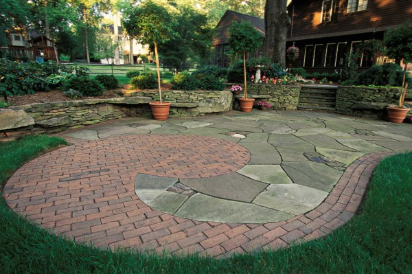 brick walkways and patios - cording