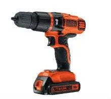 Black and Decker 18V Lithium Ion 2 Gear Hammer Drill