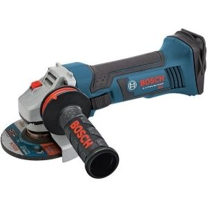 An image of the BOSCH GWS 18V-45 18V 4-1/2-Inch Angle Grinder, one of the best cordless angle grinders available in the market