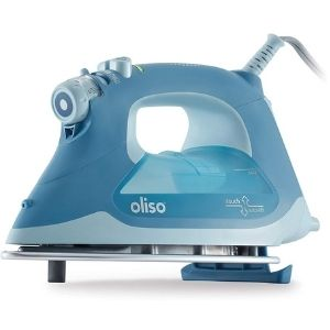 An image of Oliso TG1050 Smart Iron with iTouch Technology, one of the most essential best cordless iron for quilting unit