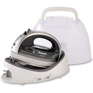 An image of Panasonic NI-WL600, another powerful model among the best cordless iron for quilting units