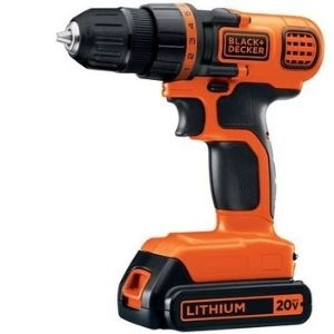 a picture of BLACK+DECKER 20V MAX Cordless Drill, one of the most reliable units among the best cordless drill under $150