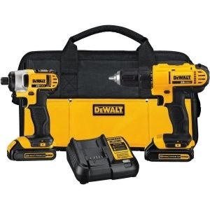 An image of DEWALT 20V MAX Cordless Drill Combo Kit, one of the most efficient units among the best cordless drill under $150