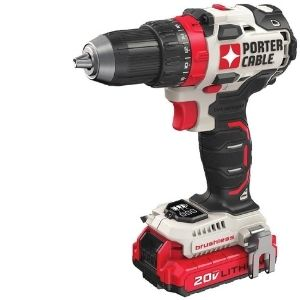 A picture of PORTER-CABLE 20V MAX Cordless Drill / Driver Kit, a powerful model among the best lightweight cordless models