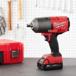 An image of Milwaukee 2767-20 M18 Fuel, one of the most desired model among the best cordless impact wrenches for wheel nuts