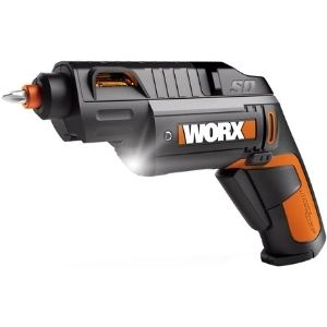 An image of WORX WX254L SD Semi-Automatic Power Screw Driver, a model among the best cordless screwdriver for electricians with battery included