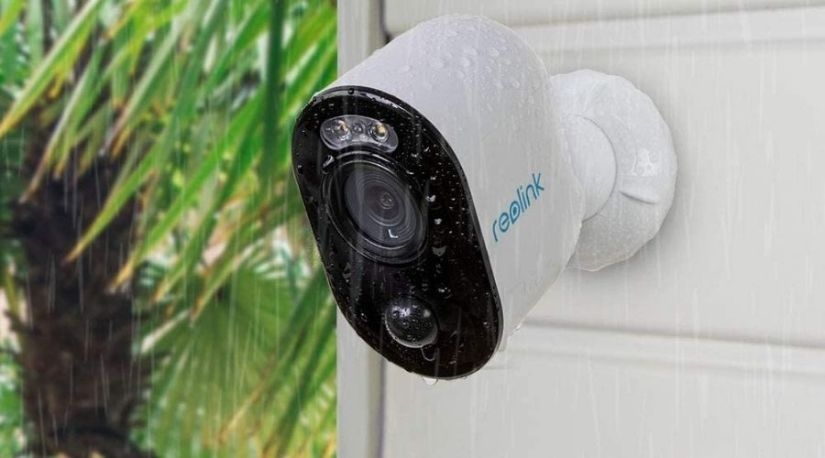 An image of one of the best wireless security cameras, the Spotlight Security Camera, at work regardless of the weather