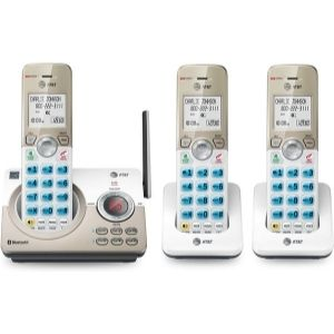 Another unit you will fancy having among the best wall mount cordless phone units is AT&T DL72319 DECT 6.0 3-Handset Cordless Phone for Home with Connect to Cell, with its call block feature, you are free from receiving nuisance calls