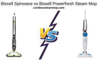 Bissell Spinwave vs Bissell Powerfresh Steam Mop