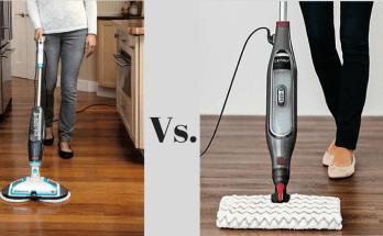 bissell spinwave vs shark genius steam mop