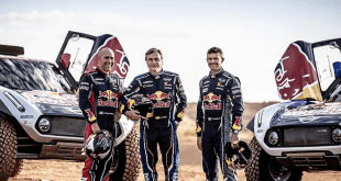 PETERHANSEL, SAINZ Y DESPRES DISPUTARÁN EL DAKAR CON MINI