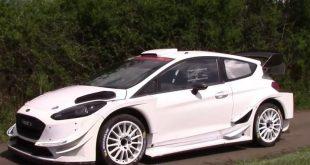 BOTTAS VUELVE A PROBAR EL FIESTA DEL WRC