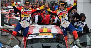 APUNTE 2 DEL FIN DE SEMANA: JAN SOLANS, FLAMANTE MONARCA DEL WRC JUNIOR