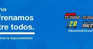 EL AUTOMOVILISMO ARGENTINO SE UNE ANTE LA PANDEMIA DEL CORONAVIRUS
