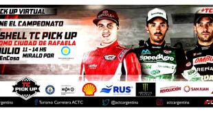 EL CAMPEONATO DE TC PICK UP VIRTUAL SE DEFINE EN EL «ÓVALO» DE RAFAELA