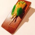 Puñado de zanahorias embarradas en Mugaritz