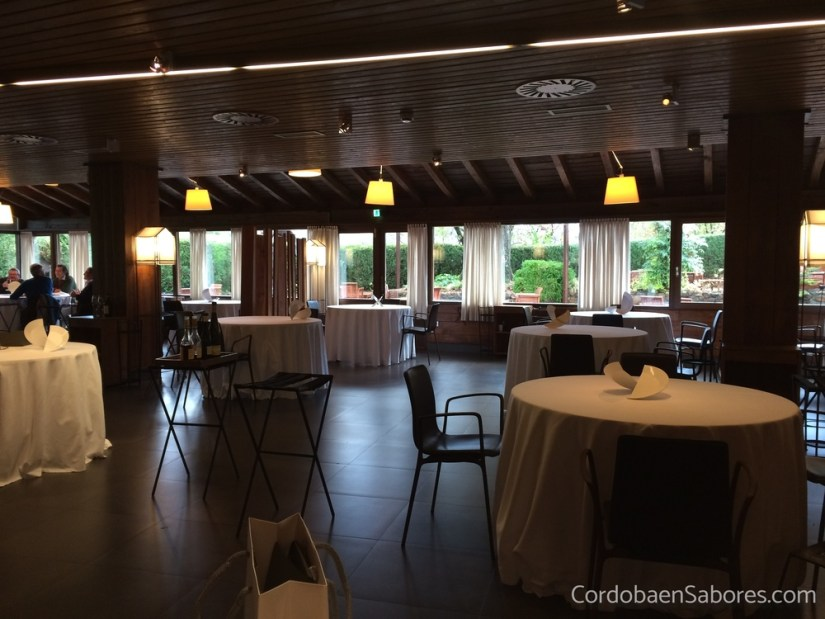 El salón de Mugaritz en 2017.