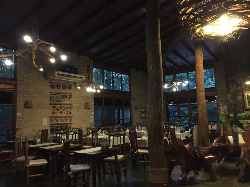 Salón de restaurante El Nido
