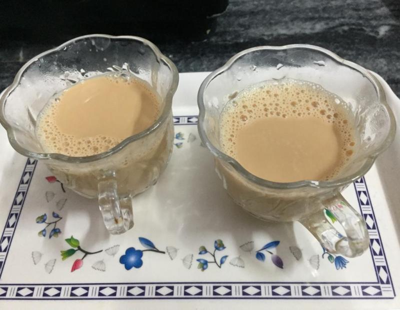 Chai en una casa en Agra.