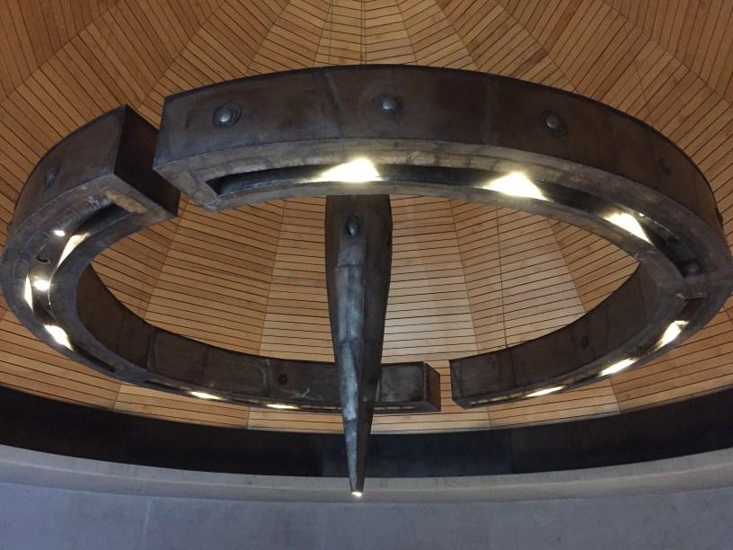 Cúpula interior en Piedra Infinita