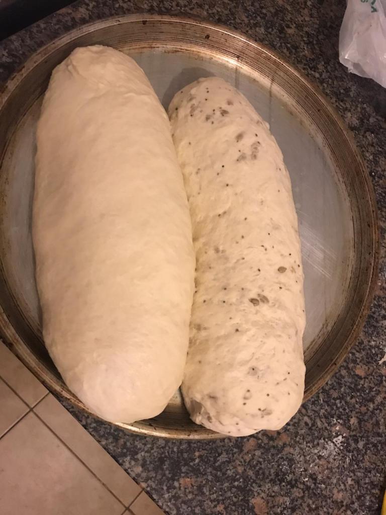 Los panes vuelven a leudar.
