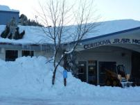 National Guard shoveling off CHS - Jan 9th