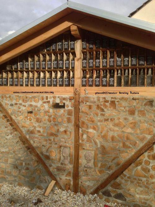 Cordwood Cabins Homes And Carports Cordwood Construction