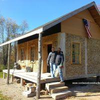 Rendezvous Cordwood Cabin