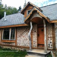 Tiny Cordwood home in Nova Scotia