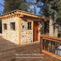 Cordwood in Colorado at Aspen Valley Ranch